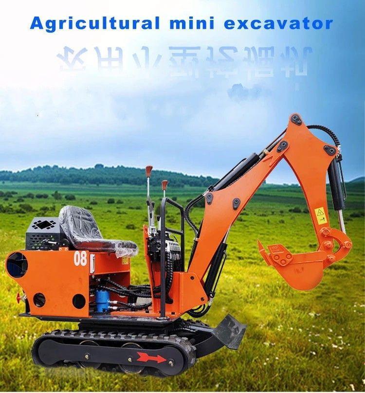 The Mini Bagger 0.8T Portable Small Excavator