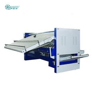 3m bed sheet folder for folding sheet linked with ironing machine