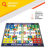 China custom intelligence toy family flying chess board game for kids