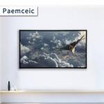 43 inch OEM  Flat screen Plastic thin frame LCD LED television 1920*1080 FHD Smart ti vi