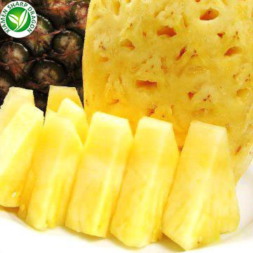 IQF Frozen Pineapples Dice Chunks