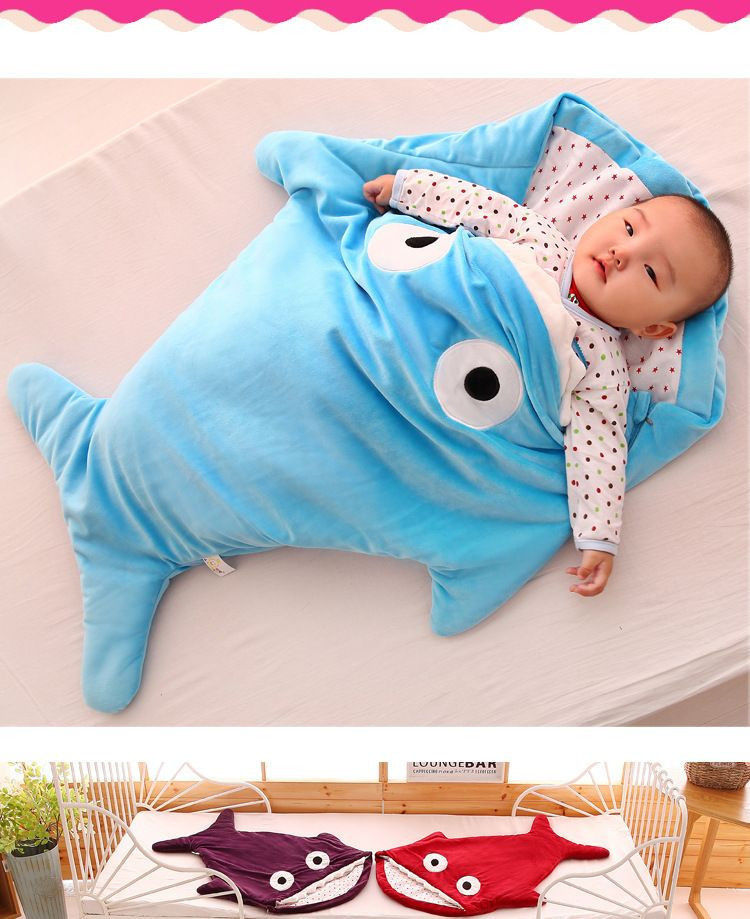 Newborn sleeping Wrap Bag kick-proof cartoon baby child baby Soft Sleeping Blankets Boy Girl Swaddle baby bathrobe 0-16M