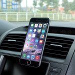 360 Rotation Universal Magnetic Air Vent Car Mount Carrying Holder with Ball Joint for Apple/Samsung/Windows/Android Smartphone