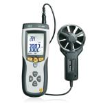CEM DT-8893 CMM/CFM  0~30m/s Professional Air Flow or Velocity plus Ambient Temperature Digital Wind Speed Measuring Device