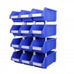 Heavy duty plastic bin TK004 for hardware storage and display