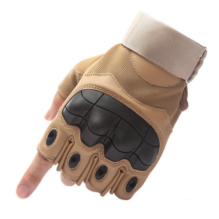 Popular Half Finger Outdoor Sports Hiking Tactical Gloves