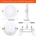8W-20W RGB+CCT 2700K-6000K Wifi Tuya Smart LED Ceiling Downlight
