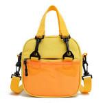 China Factory Custom Canvas Crossbody Bag With Clear PVC Window Wholesale Cheap Handbag  School Messenger Bags For  Kids