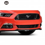 Carbon Fiber Front Center Bumper Centre Grill Intake Grid Grille Car Accessories Body Kit for Mustang