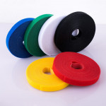 Double side nylon fastening hook and loop tape