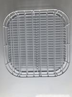 double layers wire display freezer refrigerator divider shelf