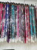 Polyester Microfiber Cotton Flannel stock lot fabric