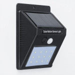 20 LED Solar light Bulb Outdoor Garden lamp Decoration PIR Motion Sensor Night Security Wall light Waterproof