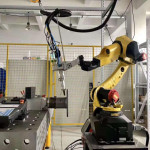 3D Robotic Fiber Laser Cutting Welding Equipment For Sale