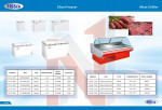 2020 High Quality Commercial Chest Freezer - ready to ship