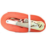 8m X 75mm Customized Double J Hook Ratchet Tie-Down Strap