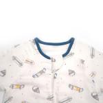 Wholesale Printed Cotton Organic Cotton Zipper Baby Sleeping Bag Customize