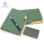 Leatherette refill business binder office supply