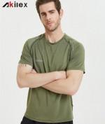 new design t-shirt for men stock item low moq men t-shirt