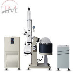 Chinese Manufacturer Rotary Evaporator With Cooler and Vacuum Pump