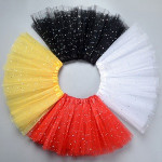 Tutu skirt for costumes party and cosplay decoration with star pattern