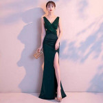 CS21 Elegant Women Long Sexy Evening Party Dress Prom Dress