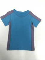 Merino Wool Knitted Infant & Toddlers Short Sleeve T-shirt Baby T-shirt