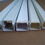 1.5mm pvc trunking duct plastic wire cable plastic ducting