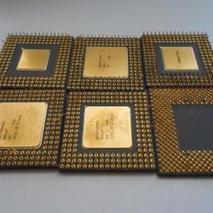 386 and 486 Scrap Ceramic CPU Scrap
