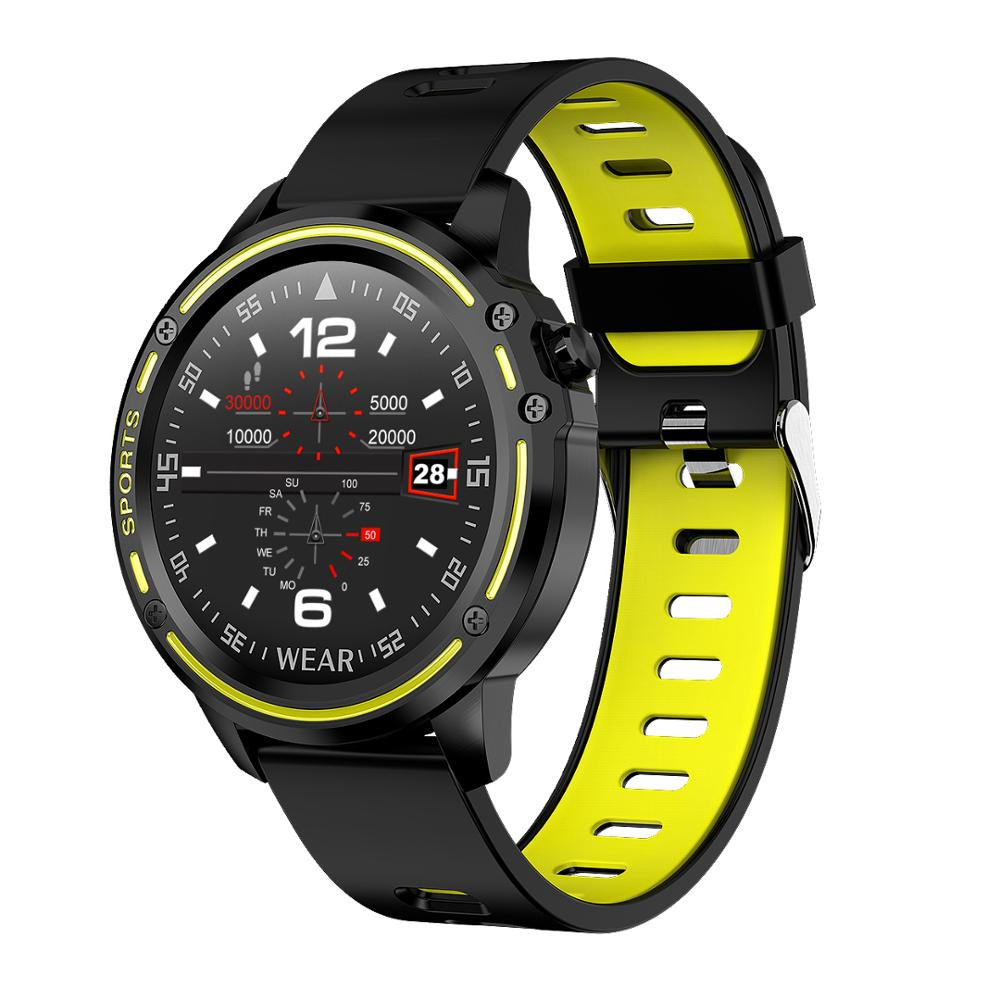 Cheap Heart Rate Monitor IP68 Waterproof smart watch L8 smartwatch blood pressure for Android IOS smartphone