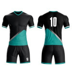 Beautiful latest design soccer uniform football jersey set