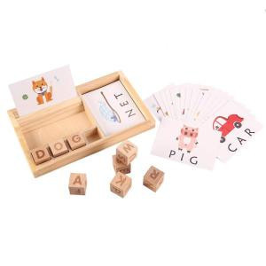 Latest Kids Early Spelling Game Multifunctional English Kids Learning Toys