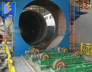 dust free used steel tube roller conveyor shot blast cleaning abrator manufacturer