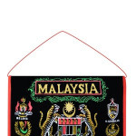 Hanging malaysia Souvenir Letters Bills Misc Holder