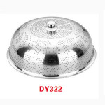 round stainless steel food cover