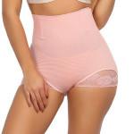 Slimmer Light Pink 4 Steel Boned Slim Waist Butt Lifter Women Pantiestummy Control