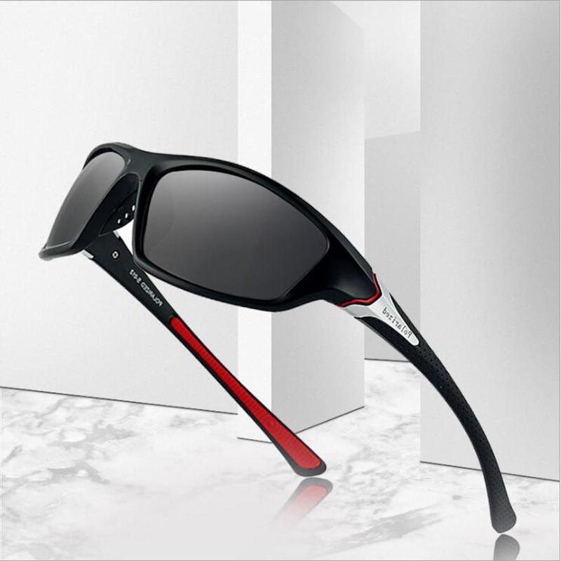 UV400 Polarized Cycling Glasses Sports Sunglasses Hiking Fishing Sport Cycling Eyewears Non-slip rubber Soft nose pad