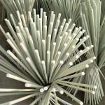 High stiffness frp fiberglass plant growing support stakes, frp vineyard poles