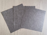 Hot sale product sintered metal fiber titanium mesh 2.5 micron sintered Ti fiber plate sheet