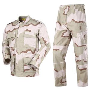 BDU tactical uniform military Desert Camouflage uniform