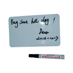Easy dry erasable self-sticky white writing board