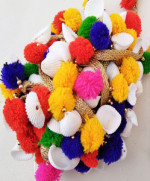 Very attractive conch shell multipurpose fringes or tassels