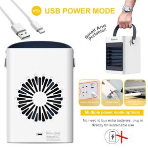 high quality desktop Air Conditioning Fan runs up 5-6hours