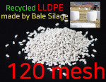 LLDPE / Recycled LLDPE in 120mesh / Factory direct sale/ Recycled Plastic pellet/recycled lldpe granules