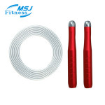 MSJ Fitness Wholesale High Quality Adjustable Heavy Jump Rope Weight Skip