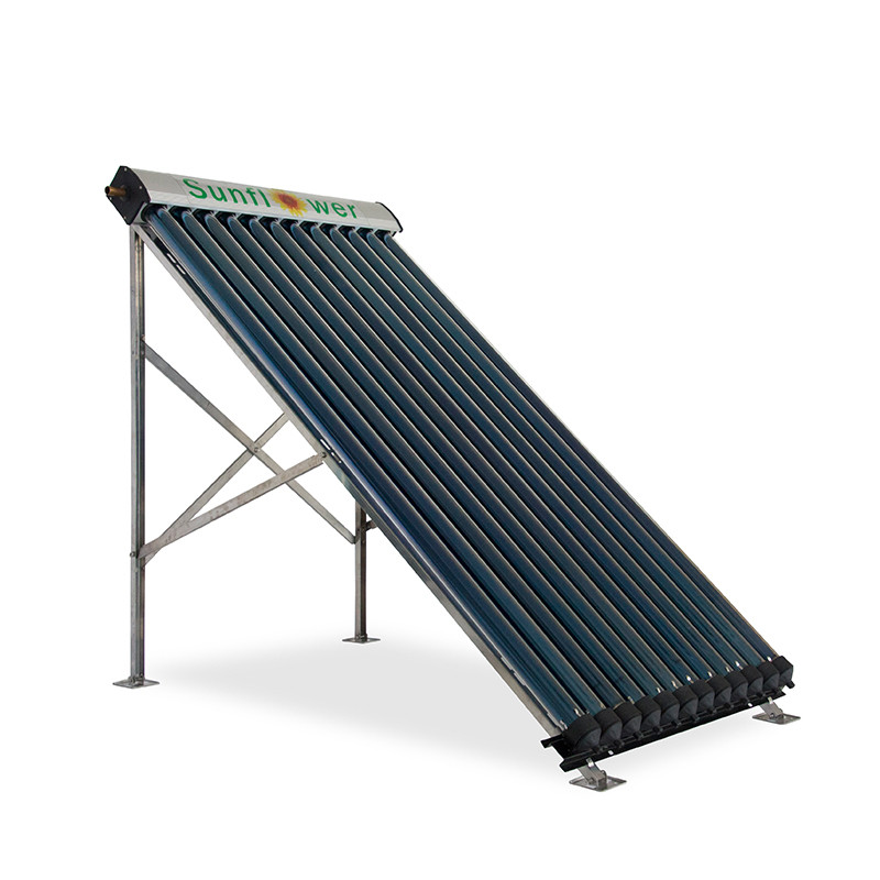 SFB125818 12 Tube Pressure Solar Collector With Heat Pipe Solar Panel For Split Pressure Solar Heating System With High Quality