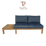 sofa garden - sofa set holywood - wood outdoor sofa