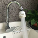 360 Rotate Swivel Faucet Nozzle Filter Adapter Water Saving Tap Aerator Diffuser Kitchen Accessories
