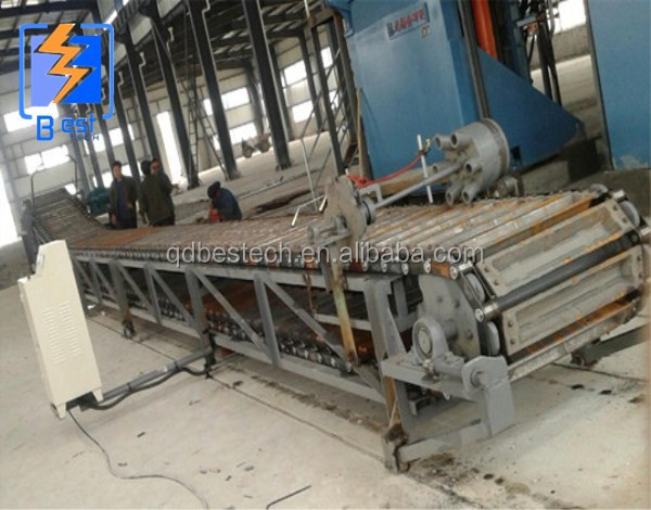 High efficient aluminum ingot continuous casting machine