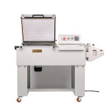 DUOQI FM5540 2 in 1 shrink packaging machine POF film sealer packager automatic hand wrapper
